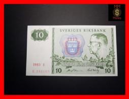 SWEDEN 10 Kronor 1983 P. 52  UNC - Suecia