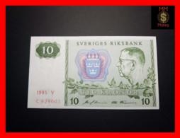 SWEDEN 10 Kronor 1985 P. 52   UNC - Suecia