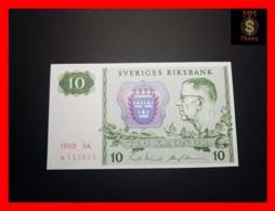 SWEDEN 10 Kronor 1989 P. 52  UNC - Suecia