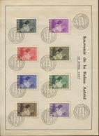Souvenir Reine Astrid Et Prince Baudouin - Belgium