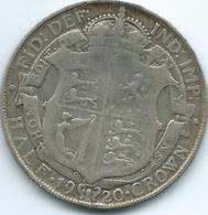 United Kingdom / Great Britain - 1920 - ½ Crown - George V - KM818.1a - 1902-1971 : Monete Post-Vittoriane