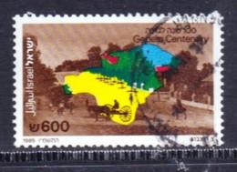 ISRAEL, 1985, Used Stamp(s)  Without  Tab, Gedara, SG Number(s) 967, Scannr. 19242 - Israel