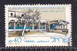 ISRAEL, 1986, Used Stamp(s)  Without  Tab, Nabi Sabalan Tomb, SG Number(s) 1002, Scannr. 19244 - Israel