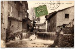 69 RHONE Le Pont Et La Vue Sur L'Ardière à BEAUJEU - Beaujeu