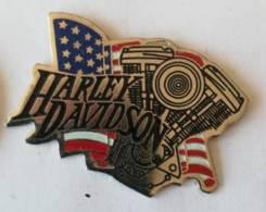 Pin's - HARLEY-DAVIDSON - Motor Cycles - Motos