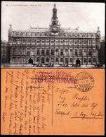 FP30 GERMANY 1916 Feldpost. Valenciennes City Hall. 5.2.16 Feldpoststation #7 Der 6. Armee - Other