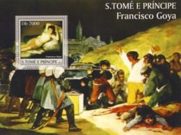 S. TOME & PRINCIPE 2004 - Spanish Art (F.Goya) - São Tomé Und Príncipe