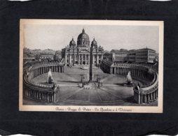 94070    Italia,   Roma,  Piazza S. Pietro,  La Basilica E Il Vaticano,  NV - Places & Squares
