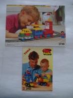 LEGO : Notice Des Boites Duplo 2730 Et 2950 - Catalogues Et Autres Documentations Et 2 Posters - Voir Les 6 Scans - Catalogs