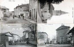 Lot De 6 Cartes Postales Du Village De Four Dans L'isère - Andere Gemeenten