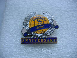 Pin's Du 80e Anniversaire Du Camel Trophy. Marque De Cigarettes - Rallye