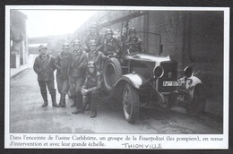 2011  --  THIONVILLE POMPIERS DANS L USINE CARLSHUTTE . 3T246 - Old Paper
