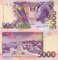 SAINT THOMAS & PRINCE 5000 Dobras22 10 1996 P 65 AUNC - Sao Tome And Principe