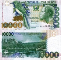 SAINT THOMAS & PRINCE 10000 Dobras31 12 2013 P 66 DUNC - Sao Tome En Principe