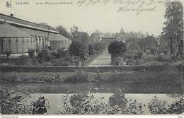 BELGIQUE - LOUVAIN - Jardin Botanique - 1918 - Leuven