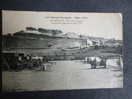 METZ LE FORT DE BELLECROIX EN 1870 ENCORE OCCUPE PAR LES FRANCAIS - Guerres - Autres