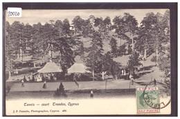 CYPRUS - TROODOS - TENNIS COURT - TB - Chypre