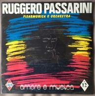 LP 33 - RUGGERO PASSARINI FISARMONICA E ORCHESTRA . AMORE E MUSICA N 12 - Vinyl Records