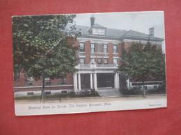 Memorial Home For Nurses City Hospital   Worcester  Massachusetts > Ref 4068 - Worcester