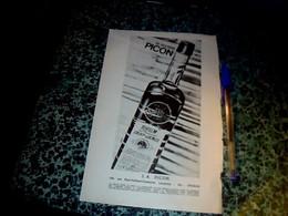 Publicité Alcool 16 X24 Cm  Société Picon Rhum Saint James (issue D'un Agenda épicerie Unico) 1971 - Publicités