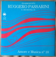 LP 33 - RUGGERO PASSARINI FISARMONICA E ORCHESTRA . AMORE E MUSICA N 10 - Vinyl Records