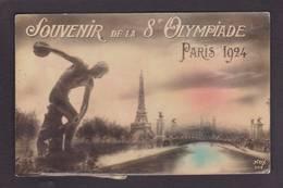 CPA Jeux Olympiques Paris 1924 Non Circulé édition NOX 592 Voir Scan Du Dos - Olympic Games