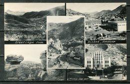 Real Photo B&W Postcard BISBEE, Arizona - Autres
