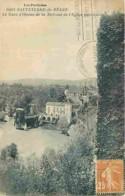 64 - Sauveterre De Béarn - Gave D'Oloron De La Terrasse De L'Eglise Paroissiale - Etat Léger Pli Visible - CPA - Voir Sc - Sauveterre De Bearn