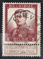 122 Côte 32.5€ - 1912 Pellens