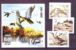 Iraq 2007 MiNr. 1748 - 1750 (Block 115) Irak Birds Duks 3v+1bl MNH**  9.60 € - Iraq