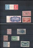 Lot Timbres-113-114-126-169-182-188A-242A-262C-321-PA15..XX Certains Signés(Ne Détaille Pas)Cote Plus De 7100e - Collezioni