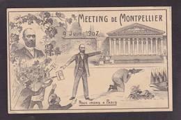CPA Viticole événements Viticoles De 1907 Circulé En 1907 Correspondance Intéressante - Events