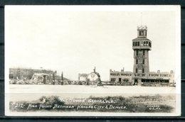 Real Photo B&W Postcard GENOA, Colorado - High Point Between Kansas City Asnd Denver - United States