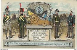 DEUTSCHLAND - Zur Hundertjahrfeier Des 2.Nassauischen Infanterie-Regiments Nr.88 - 1914 - Guerre 1914-18