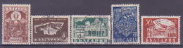 74-673 / BG - 1946  1000 Years RILA MONASTERY   Mi 559/63 O - 1945-59 République Populaire