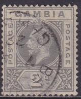 GAMBIA 1921 SG 111 2d Used CV £2.75 Wmk Mult.Script CA - Gambia (...-1964)