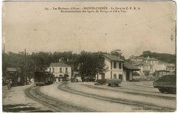 CPA Algérie. Maison-Carrée. La Gare De CFRA Embranchement Des Lignes Rovigo Et Ain-Taya, 1915 - Alger