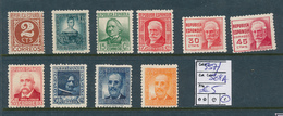 SPAIN YVERT 557/564A LH - 1931-Heute: 2. Rep. - ... Juan Carlos I