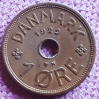 DENEMARKEN : 1 ORE 1929 KM 826.2 - Danimarca