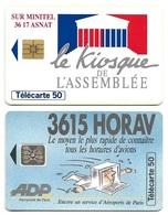 L20b) 2 Télécartes (50) France 1993 - 1993