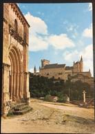SEGOVIA, EL ALCAZAR DESDE LA VERA CRUZ. 1975. - Segovia