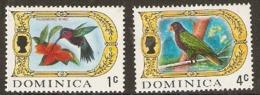 Dominica  1969    SG 273,6a  Birds   Unmounted Mint - Dominica (...-1978)