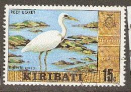 Kiribati 1979  SG 92  Reef Eget  Fine Used - Kiribati (1979-...)