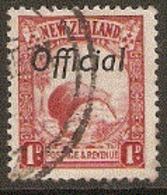 New  Zealand  1931  SG 0121  Official Overprint   Fine Used - Oblitérés