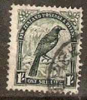 New  Zealand  1936  SG 588 1/-d  Perf  14x13,1/2   Wmk Mult  Fine Used - Oblitérés