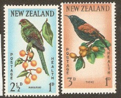 New Zealand  1962  SG  812-3   Health Unmounted Mint - Ongebruikt