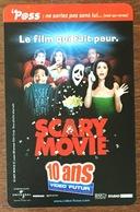 VIDEO FUTUR SCARY MOVIE PAS TELECARTE NO PHONECARD GIFT CARD - Frankreich