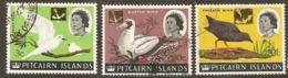 Pitcairn Islands  1967  Birds Various Values Fine Used - Islas De Pitcairn