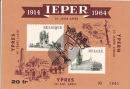 Ieper 1914 - 1964 : 50 Jaar Later - Met Stempel 1965 - Libretti 1962-....