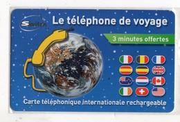 FRANCE CARTE Prépayée SWITCH LE TELEPHONE DE VOYAGE Date 2006 - France